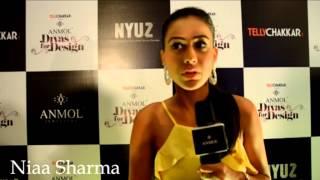 Nia Sharma at the event 'Divas for Design'