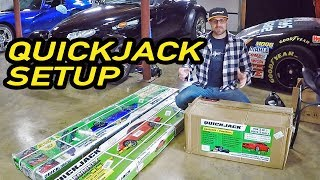 BEST $1000 Spent! EASY INSTALL QuickJack BL 5000 Garage Car Lift Setup