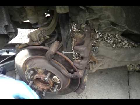 how to replace rear brake pads on a 2009 mazda 6 youtube. Black Bedroom Furniture Sets. Home Design Ideas