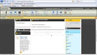 tutorial editare website webnode com