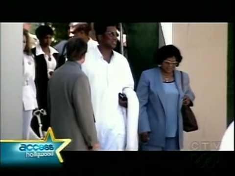Prince amp Paris Jackson Outside LA Kingdom Hall Access Hollywood Story