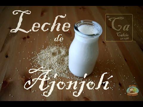 Prepara Lechada de Ajonjolí o Sésamo. Más CALCIO que la leche de Vaca!