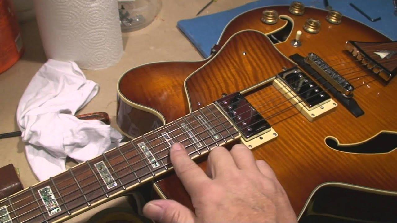 medium resolution of ibanez artcore guitar setup and demo