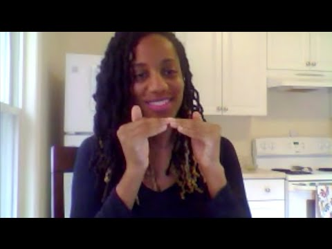 Black ASL Womanism Vlog