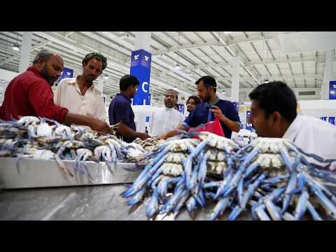"""""""The Waterfront Market """" le tout nouveau marche de poisson de Dubai"""