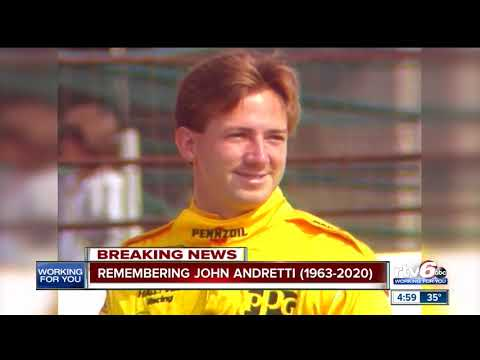 Racer John Andretti dies after battling cancer