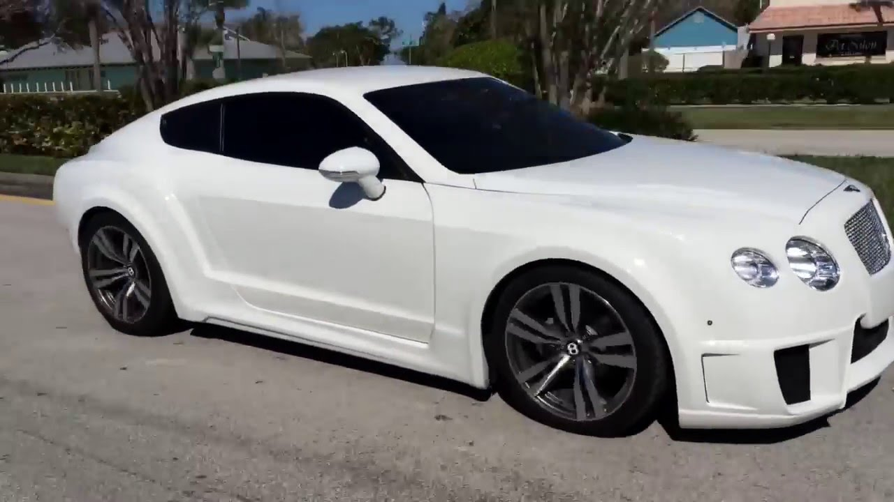 The Only Widebody Hardtop Bentley Gt Replica Youtube