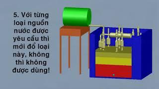 Các bước lắp máy lọc nước MET