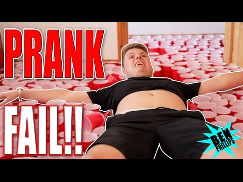 Thumbnail: ULTIMATE CUP PRANK ON MY BRO! (20,000 CUPS!)