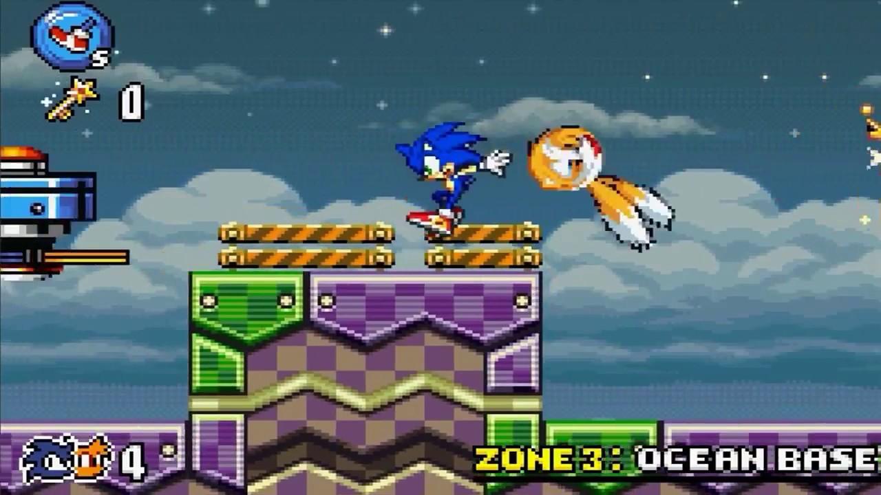Sonic Advance 3 part 3 Ocean Base Zone