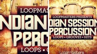 Indian Percussion Sounds - Loopmasters Present Indian Sessions Percussion Vol3