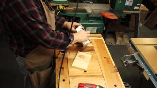 Stumpy Nubs Woodworking Tip #3- Toilet Wax Ring Screw Lube