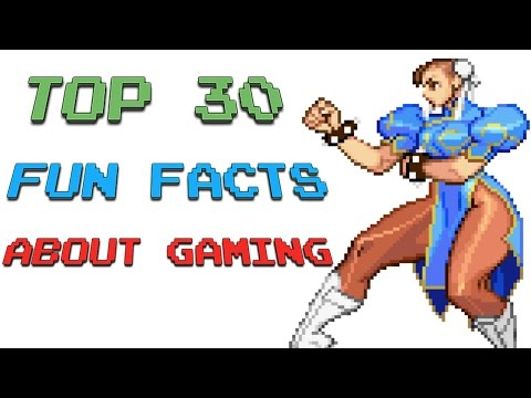 Top 30 fun facts about gaming