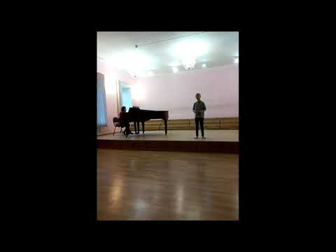 "Лейла Саберова. Репетиция. ""Мотылёк"", Р. Шуман."
