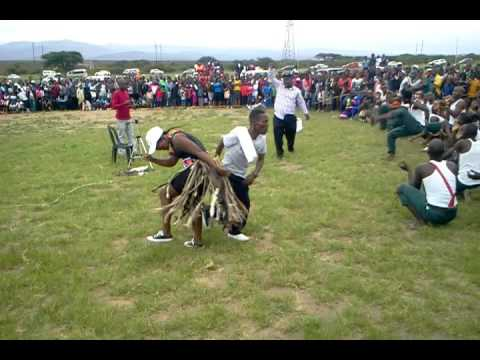 Traditional dance at Ulundi..25 December 2016