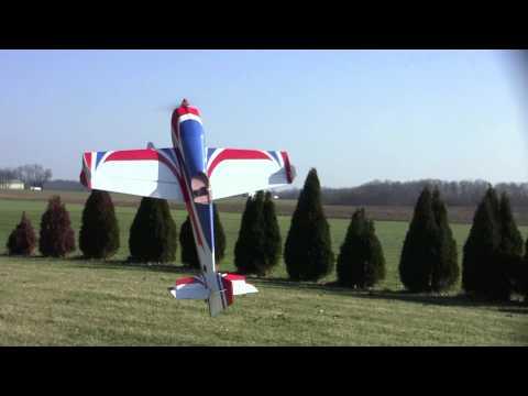 Joe Smith flying the 72 Extra