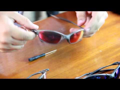 8bd277131 Oakley Juliet | Como Trocar as Lentes - YouTube