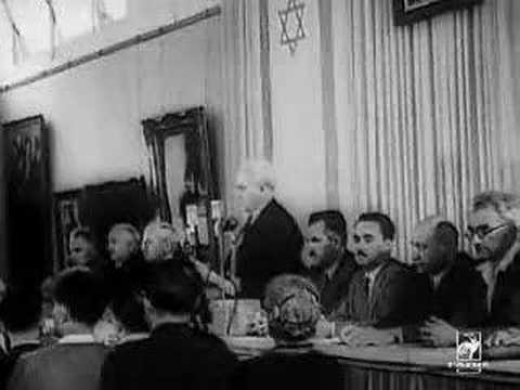 Founding of the State of Israel ,  May 14, 1948
