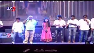 Prabhas Entrance at Baahubali Audio Launch | Baahubali Theme Song | TV5 News