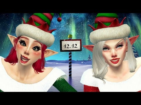 """🎄The Sims 4: Dwa psotne Elfy z Tulą #7 - """" Odpuść dziadka? """""""