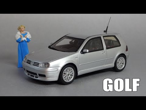 Volkswagen Golf GTI 25th Anniversary   DNA Collectibles   Масштабная модель автомобиля 1:43