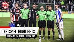 Eintracht Frankfurt - Hertha BSC | Highlights des Testspiels in Florida