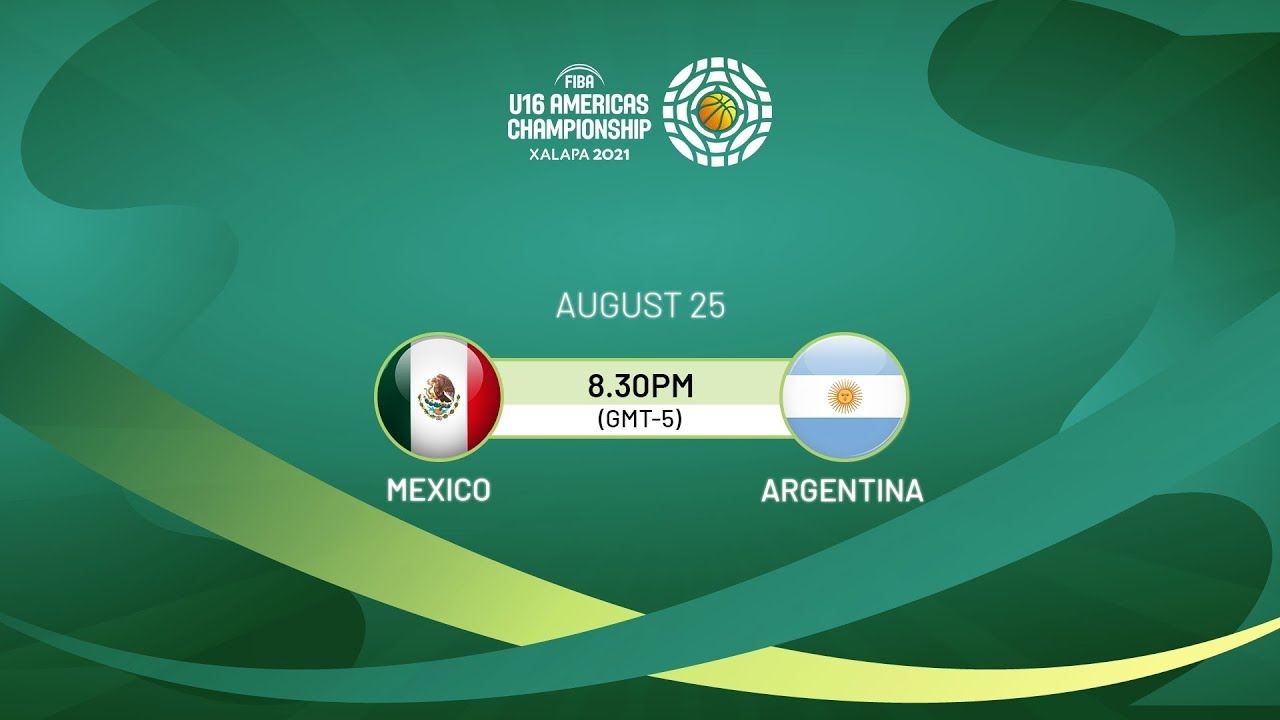 Download Mexico v Argentina | Full Game - FIBA U16 Americas Championship 2021