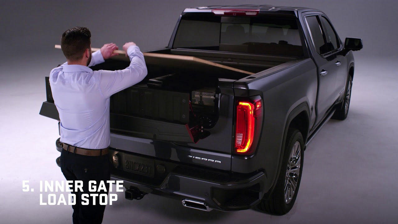 2019 GMC Sierra six-way tailgate - YouTube