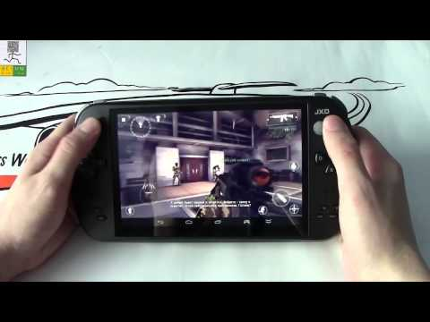 Обзор портативной игровой консоли JXD S7800B. Китайская приставка