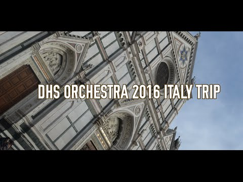 DHS Italy Trip 2016