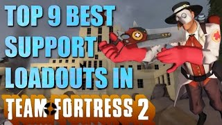 The Top 9 Best Support Loadouts In Team Fortress 2