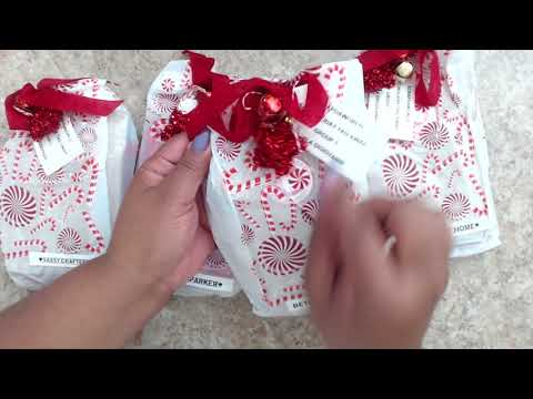 CHRISTMAS | WINTER SHAPED TAG SWAP | REVEAL | GROUP #7
