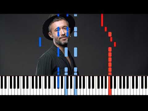 5'nizza - Я Солдат Ноты На Пианино