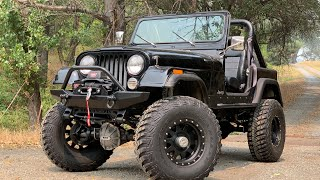 1986 6.0 LS Powered CJ7 on 37's