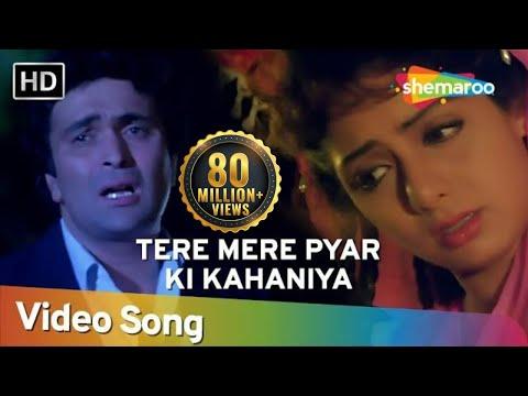 Tere Mere Pyar Ki Kahaniya (HD) - Banjaran Songs - Rishi Kapoor - Sridevi - Anuradha Paudwal