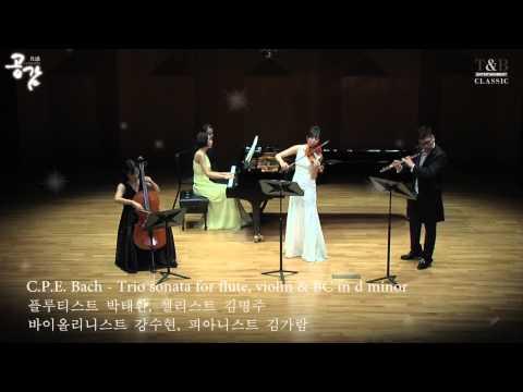 C. P. E. Bach - Trio Sonata for Flute, Violin & BC in D minor
