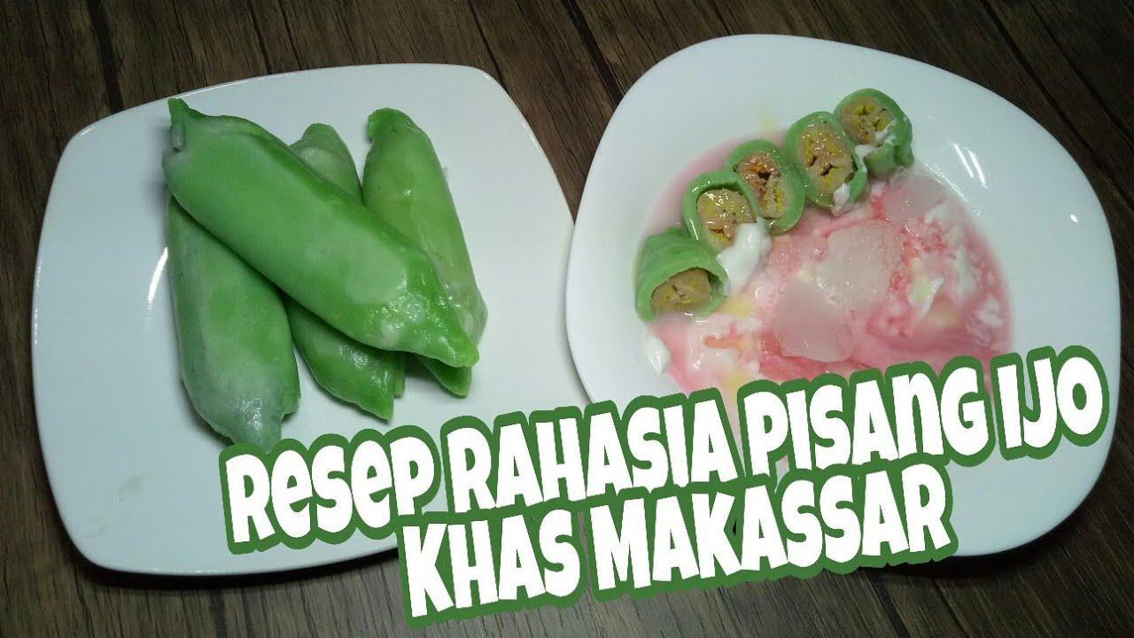 Cara membuat Pisang ijo Khas Makassar