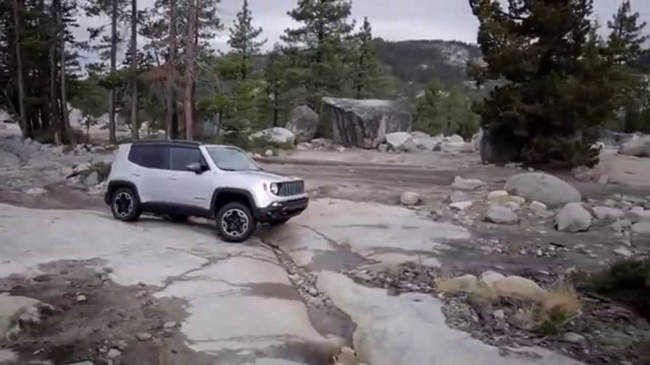 2015 Jeep Renegade Tales Of The Trailhawk Up And Over