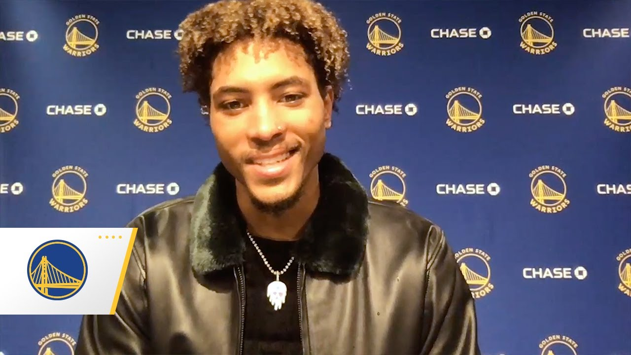 Kelly Oubre Jr.'s First Press Conference with the Golden State Warriors
