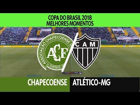 Melhores Momentos - Chapecoense 0 x 0 Atlético-MG - Copa do Brasil - 16/05/2018