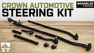 Jeep Wrangler JK Crown Automotive Steering Kit (2007-2018) Review