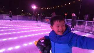 First taste of ice skating