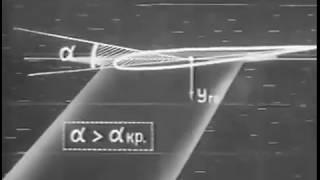 Учебный фильм: Влияние обледенения на самолёт