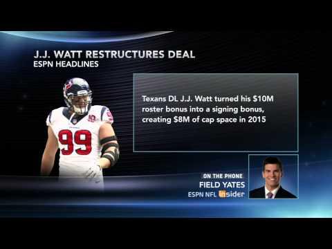 J.J Watt Move Opens Cap Space For Texans