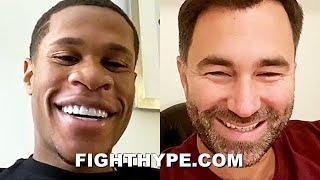 DEVIN HANEY KEEPS IT 100 ON GERVONTA DAVIS KNOCKOUT & RYAN GARCIA VS. LUKE CAMPBELL BET WITH HEARN