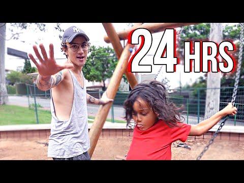 24 HORAS SENDO PAI DO MEU SOBRINHO
