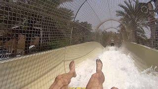 Juha's Journey Water Slide at Wild Wadi Waterpark
