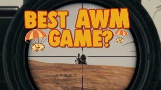 chocoTaco's Best AWM Game? - PUBG Gameplay