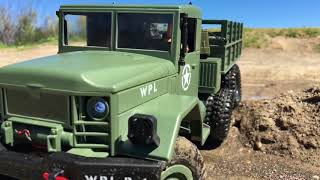 WPL B-16 Upgrade 10 Wheeler + 3s Lipo Dual Motors