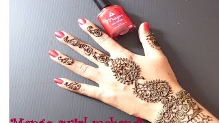 beautiful Mango mehandi design - Wedding guest mehandi Thumbnail